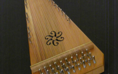 (SOLD) Alto Bowed Psaltery / #415