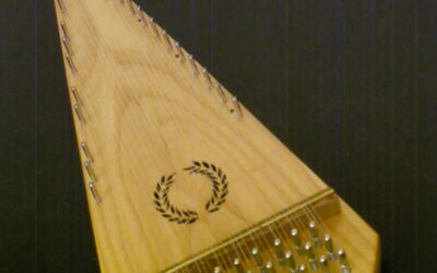 (SOLD) Alto Bowed Psaltery / #417