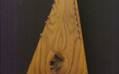 (SOLD) Soprano Bowed Psaltery / #1029