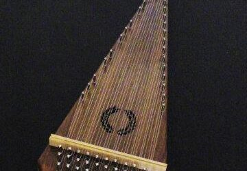 (SOLD) Alto Bowed Psaltery / #400