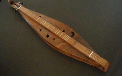 (SOLD) Teardrop Dulcimer / #1112
