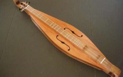 (SOLD) Teardrop Dulcimer / #1122