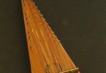 Soprano Bowed Psaltery / #1019