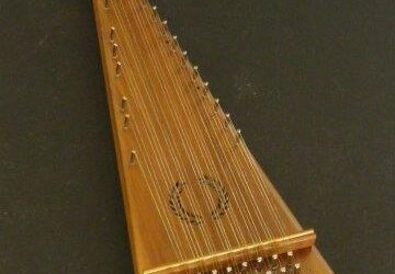 Soprano Bowed Psaltery / #1022